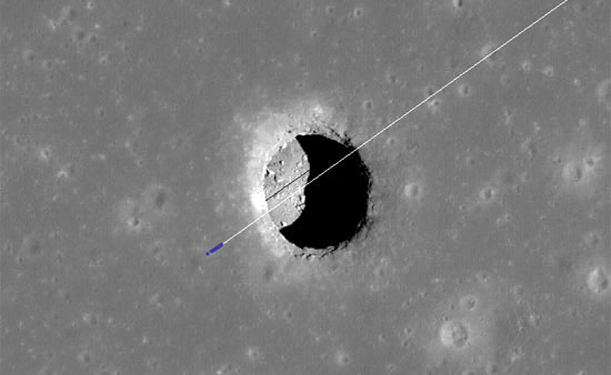 isro water on moon